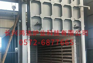 北京炉壳移动式罩式电阻炉