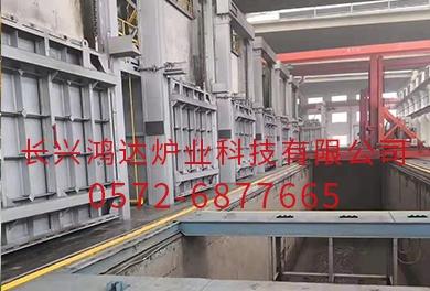 北京带叉车室式电阻炉