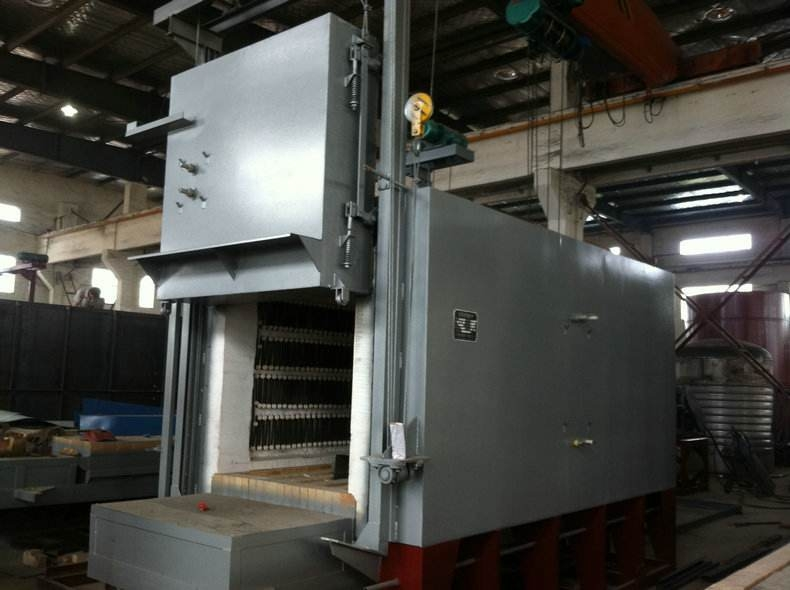 台车式电阻炉构成和说明