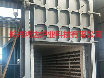 炉壳移动式罩式电阻炉
