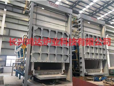 台车式热处理炉性能特点及日常维护