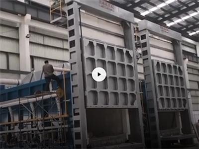 台车式天然气炉