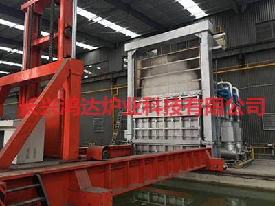 提升台车式工业电炉的温度控制匀称性
